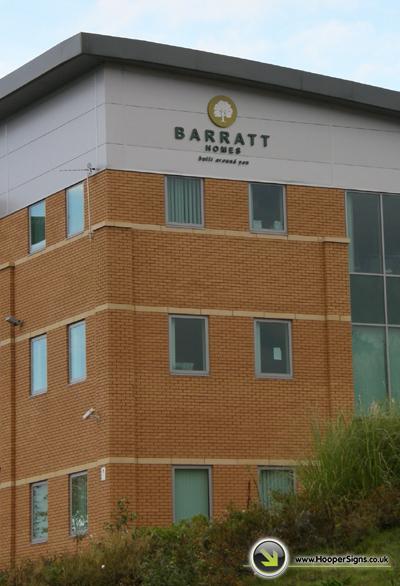 Barratt Homes new building in Scotswood