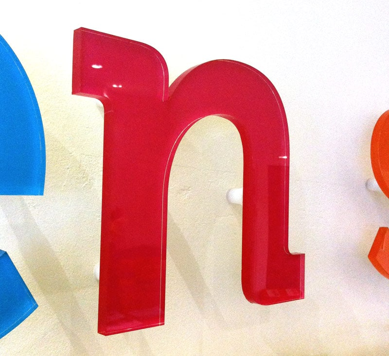 clear acrylic letters With clear acrylic letters