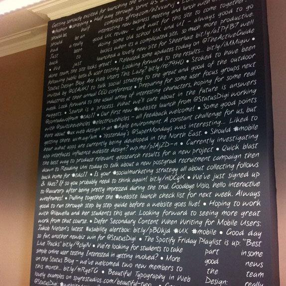 Wall Graphics text