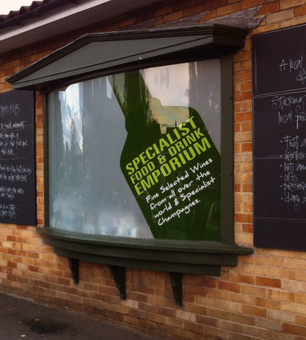 Window Graphics for shop front