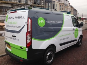 Howard Russell Vehicle Livery