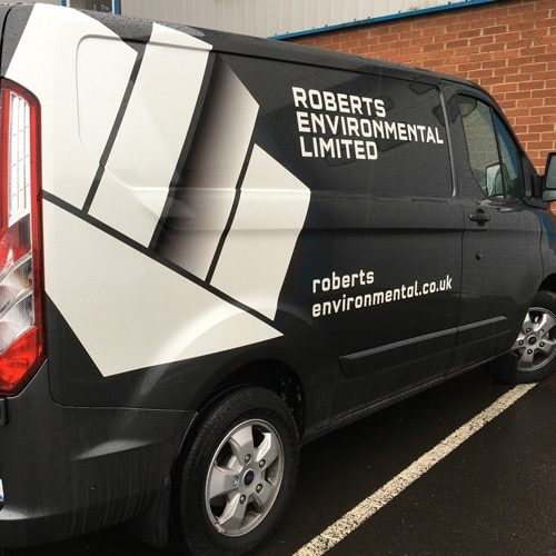 Van Livery Newcastle